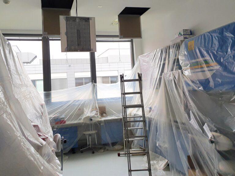 Čištění pro nemocnice alaboratoře